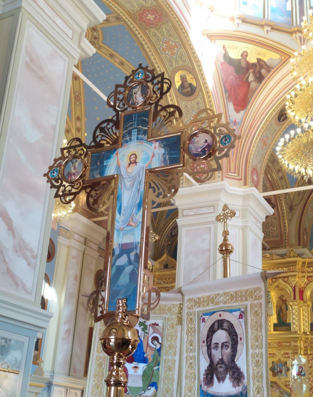 Крестный ход после литургии 09 мая 2021 г.