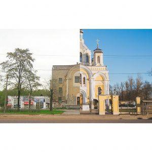 Храм до и после реставрации