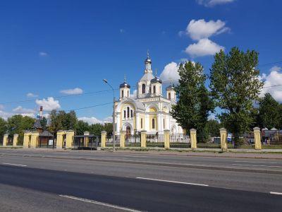 Храм - вид с набережной 07.10.2018