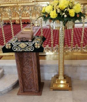 Частица мощей священномученика Владимира Четверина